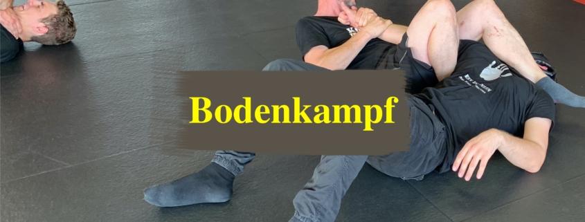 Trainiere flexible Lösungen wenn Du am Boden liegst und Dich jemand würgt oder schlägt